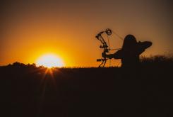 cami-bow-shooting-sunrise-3